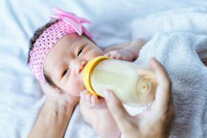 Baby Drinking Colic Formula