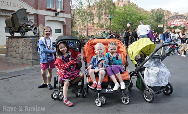 Big Kids Using Strollers