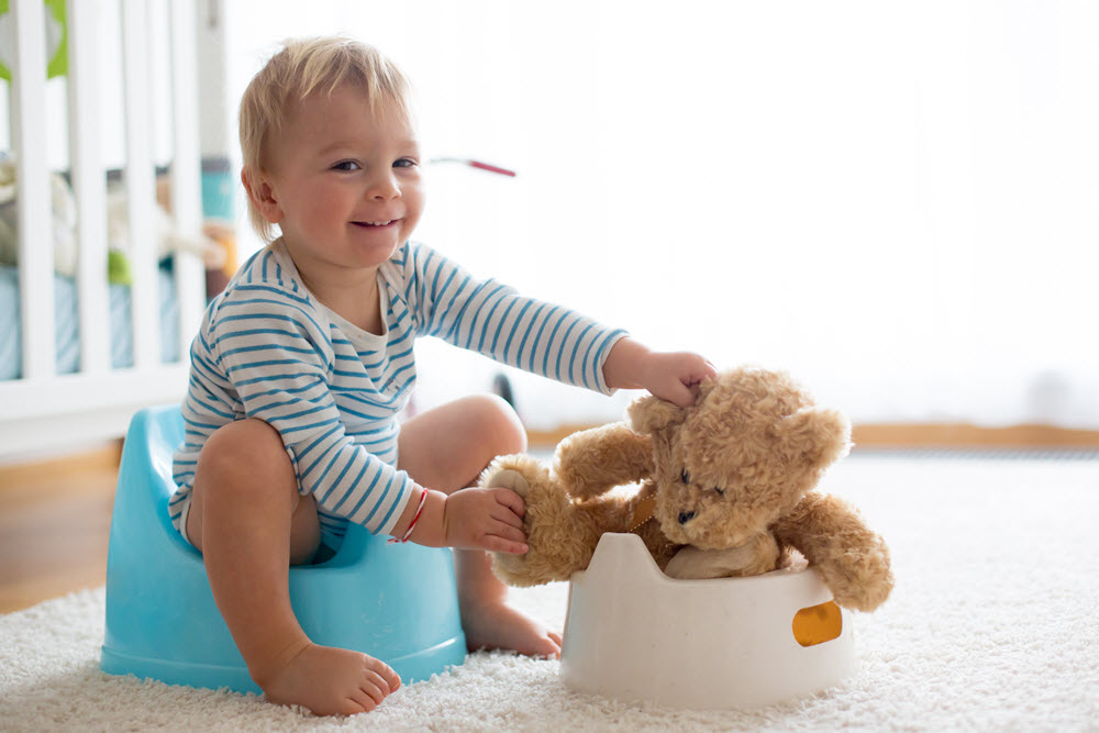 Happy Toddler Potty Training