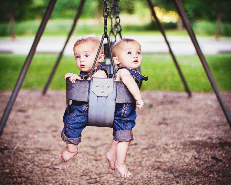 Babies Swinging