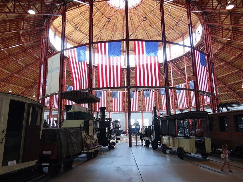 B&O Railroad Museum Baltimore Maryland
