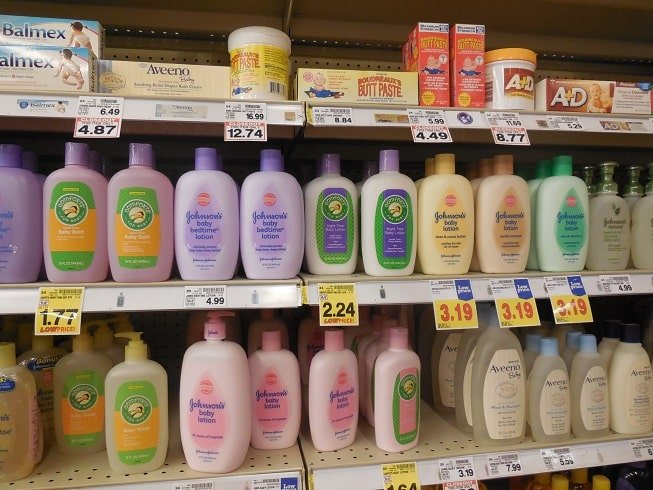Baby Bath Products at the Store