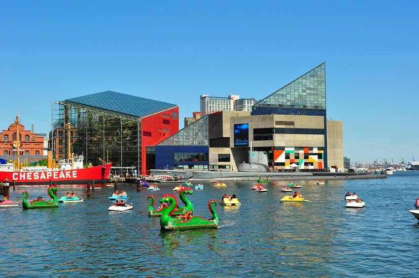 Baltimore Maryland National Aquarium
