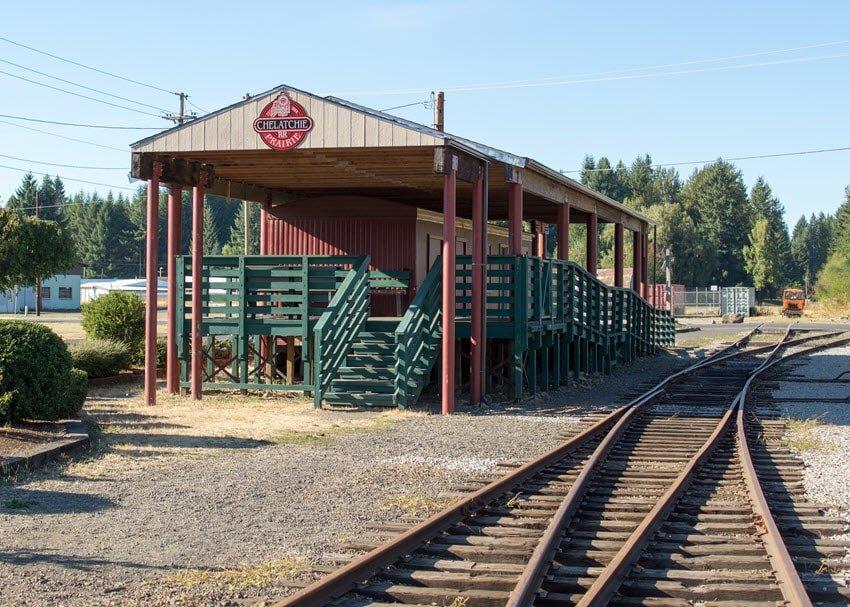 Chelatchie Prairie Railroad Station Vancouver