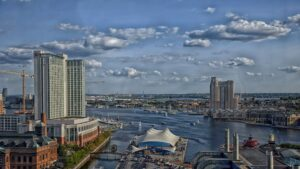 Activities in Downtown Baltimore Maryland