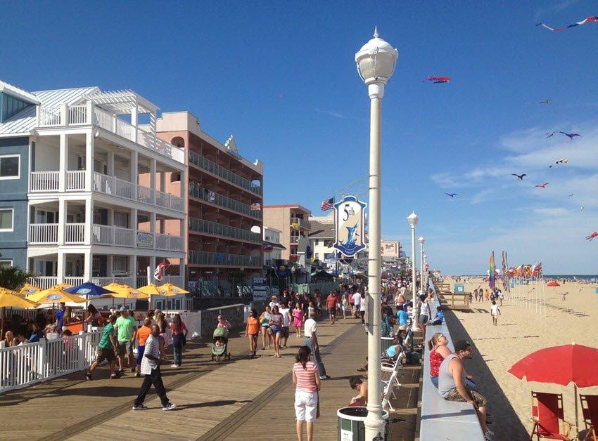 Ocean City MD Boardwalk