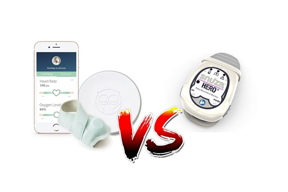 Owlet vs Snuza Baby Heart Monitor