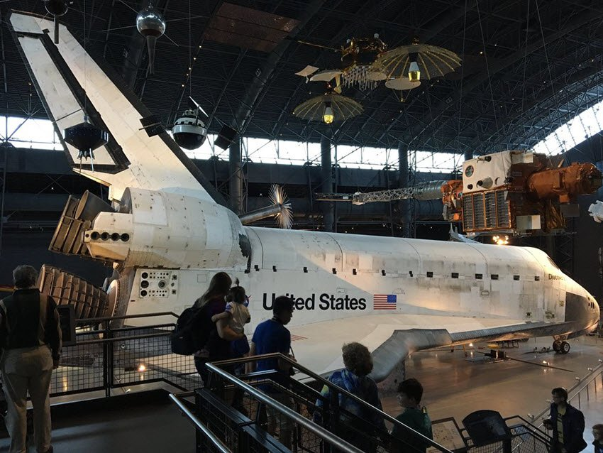 Steven F Udvar-Hazy Center Nasa Space Shuttle
