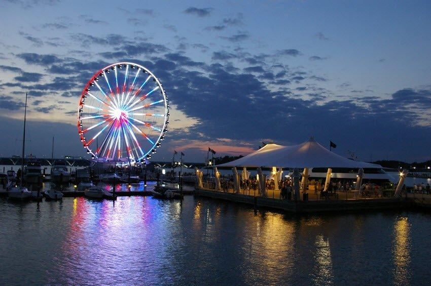 The National Harbor's Capital Wheel Maryland