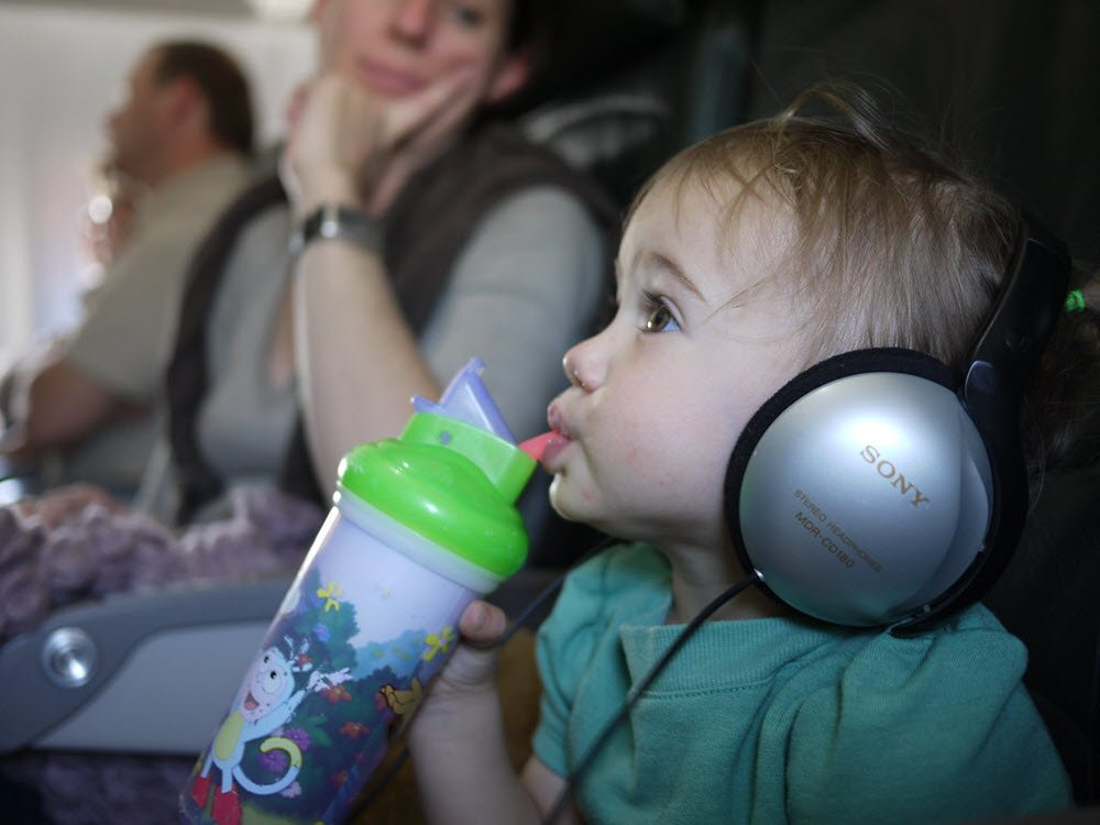 best headphones for babies and toddlers on a plane