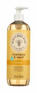 burt's bees shampoo and wash