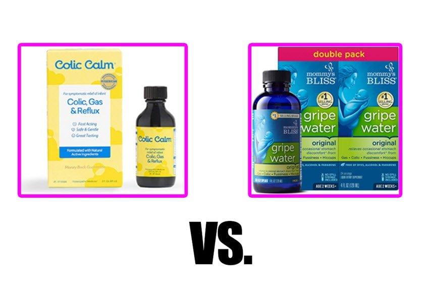 colic calm vs gripe water comparison