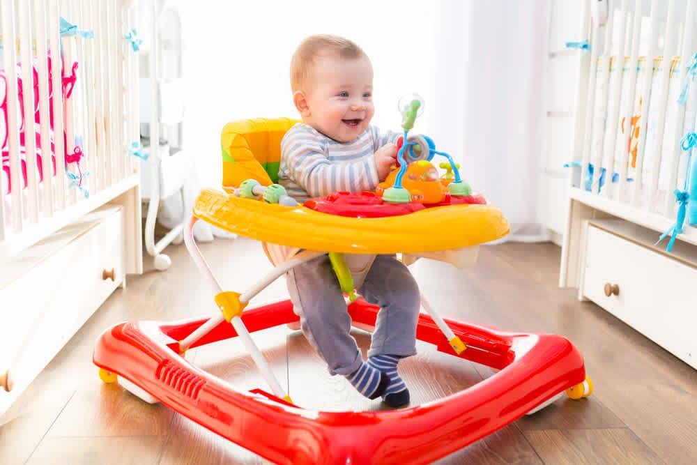 how long should babies stay in a walker