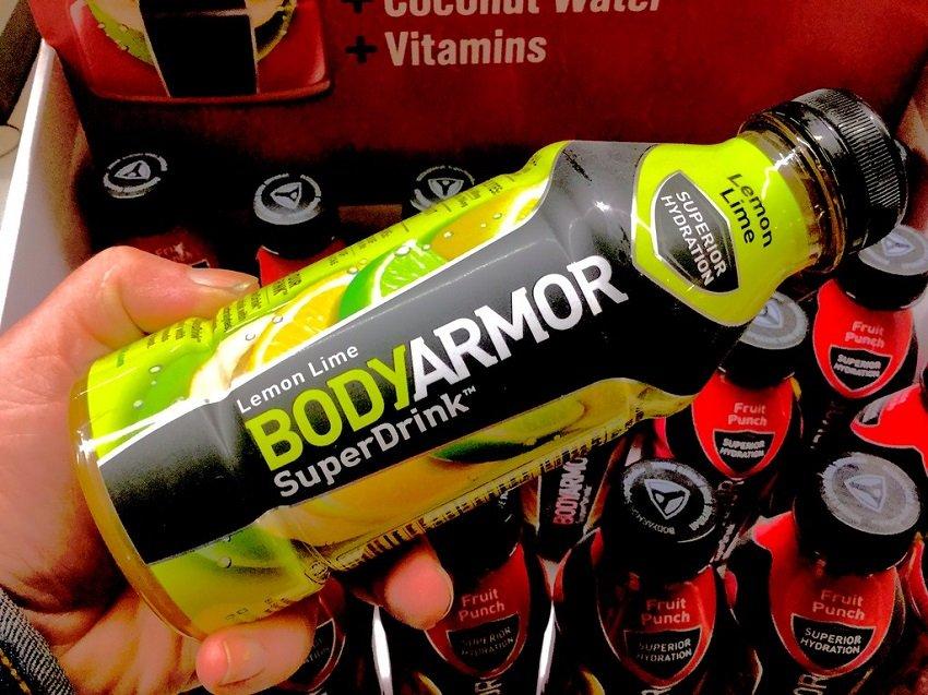 body armor bottle