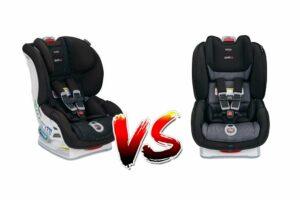 Britax Boulevard vs Marathon Car Seat