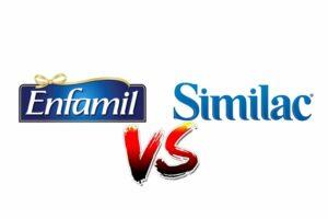 Enfamil vs Similac Baby Formula