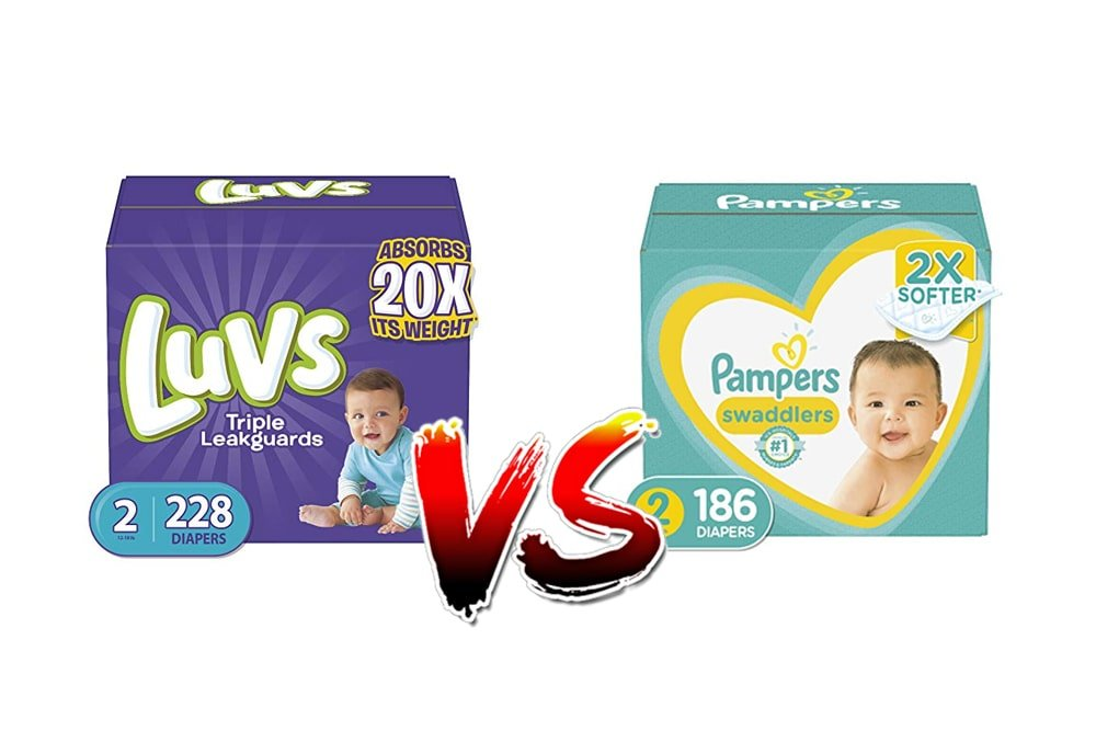 Luvs vs Pampers Diaperrs
