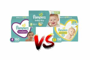 Pampers Cruisers Vs Swaddlers Vs Baby Dry Diapers