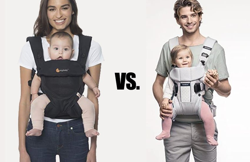 baby bjorn and ergobaby compared