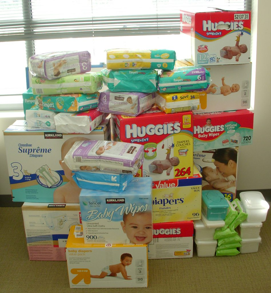how many baby wipes per month