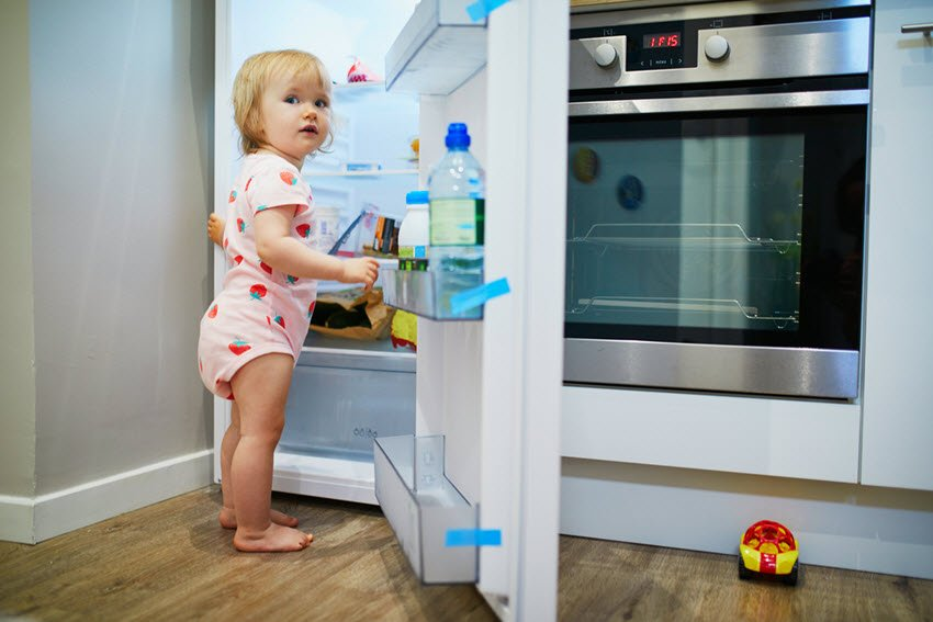 Childproof Refrigerator