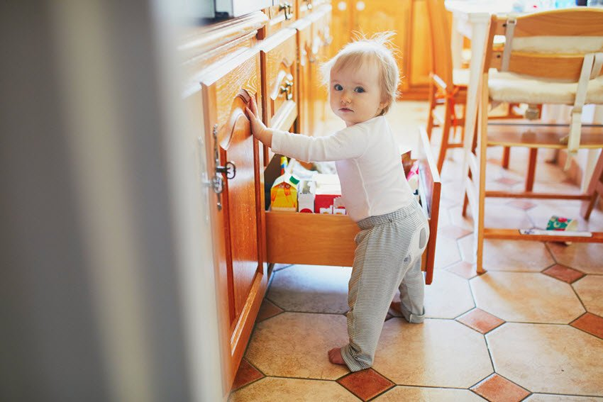 Childproofing Cabinet Locks