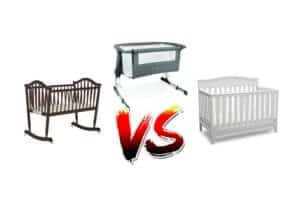 Cradle Vs Crib Vs Bassinet