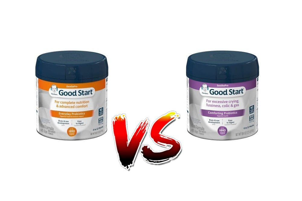 Gerber Good Start Gentle Vs Soothe Baby Formula