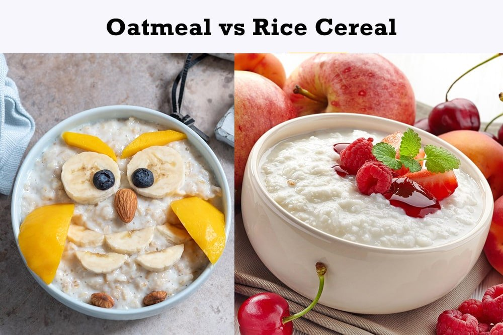 Oatmeal vs Rice Cereal for Babies