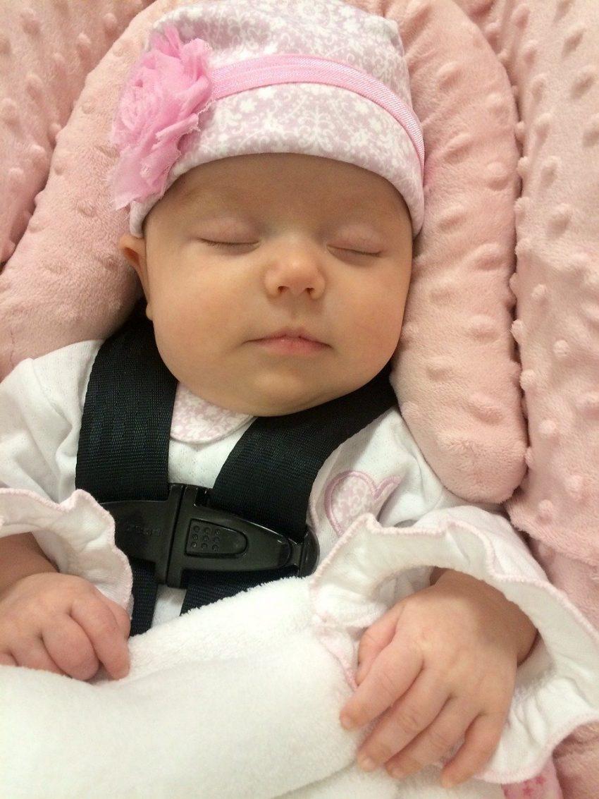 newborn in car seat