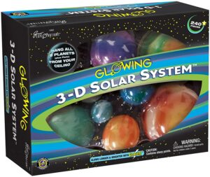 Great Explorations 3D Solar System Glow in the Dark Kit
