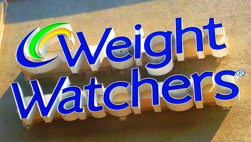 weight watchers sign
