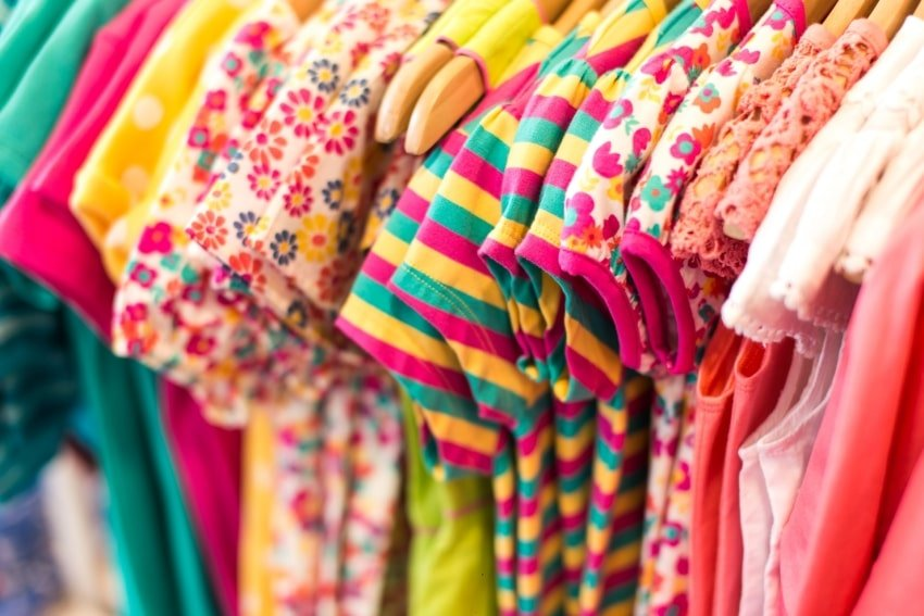 colorful clothes for children