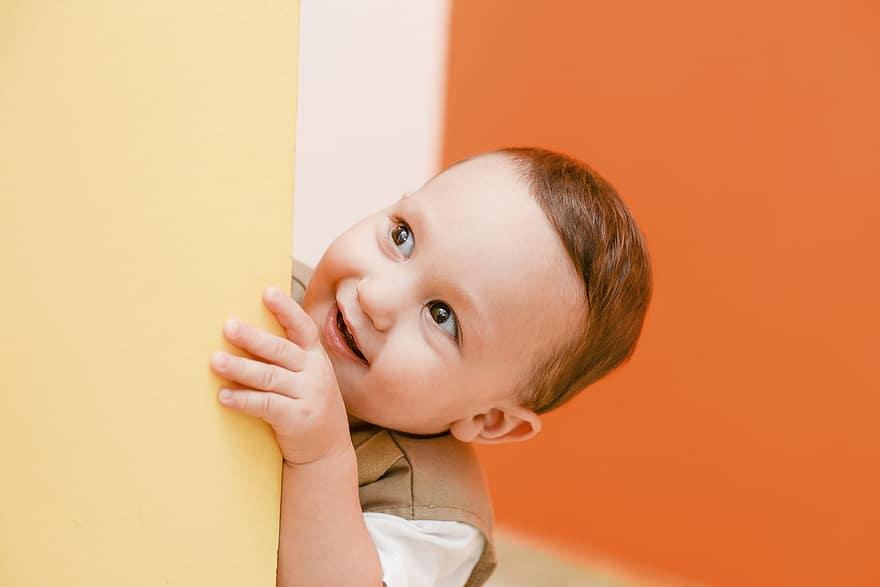 mischievous kid