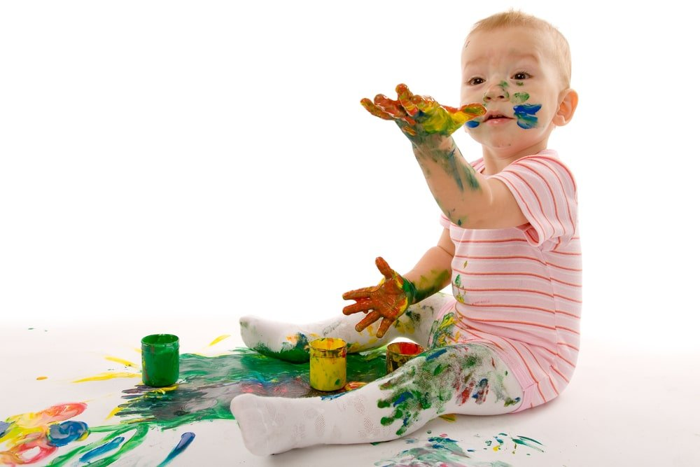 How to Get Crayola Markers Off Toddlers or Kids Skin