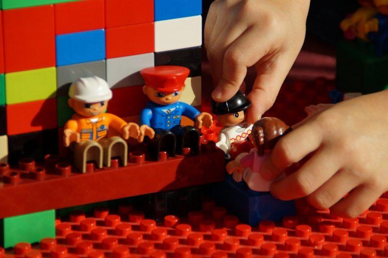 legos increase fine motor skills
