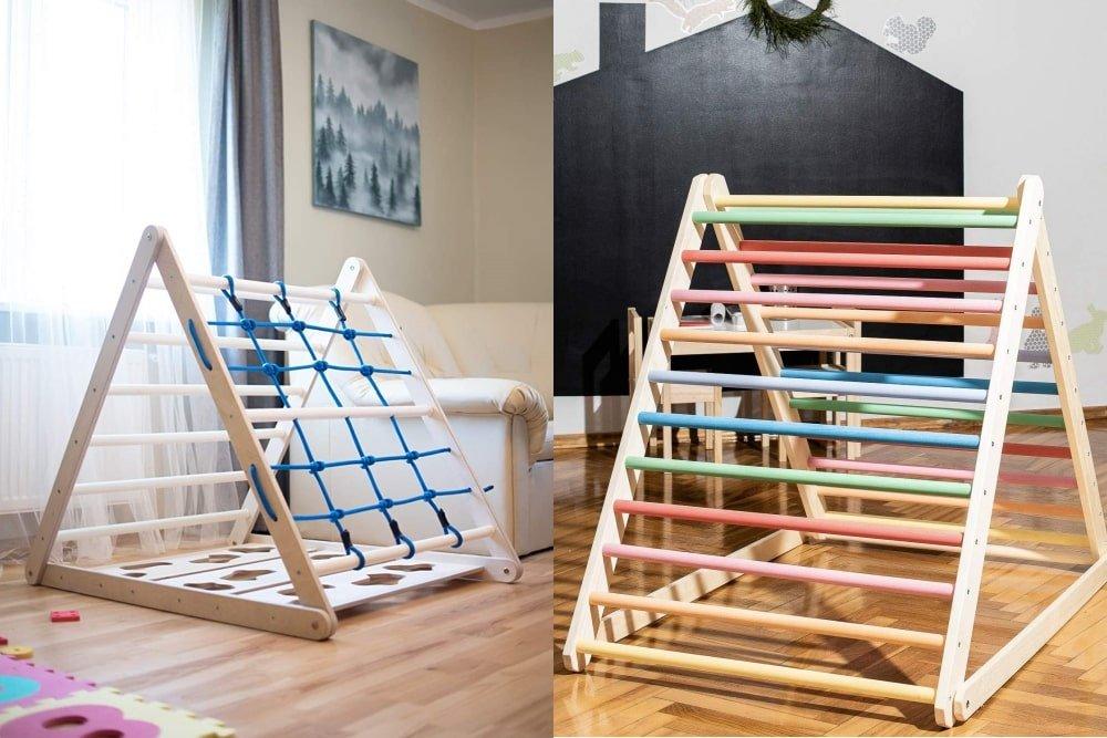 6 Best Pikler Triangles for 2020 (Montessori Climbing Ladder)