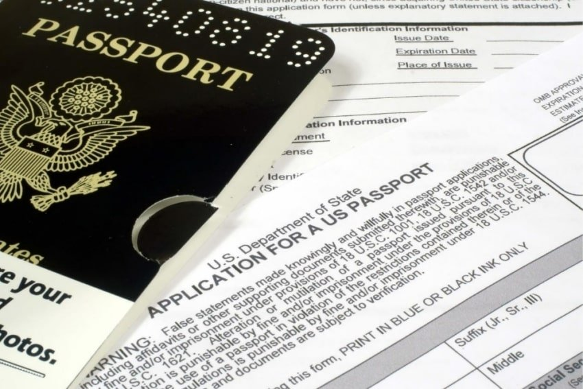 application for a US passport