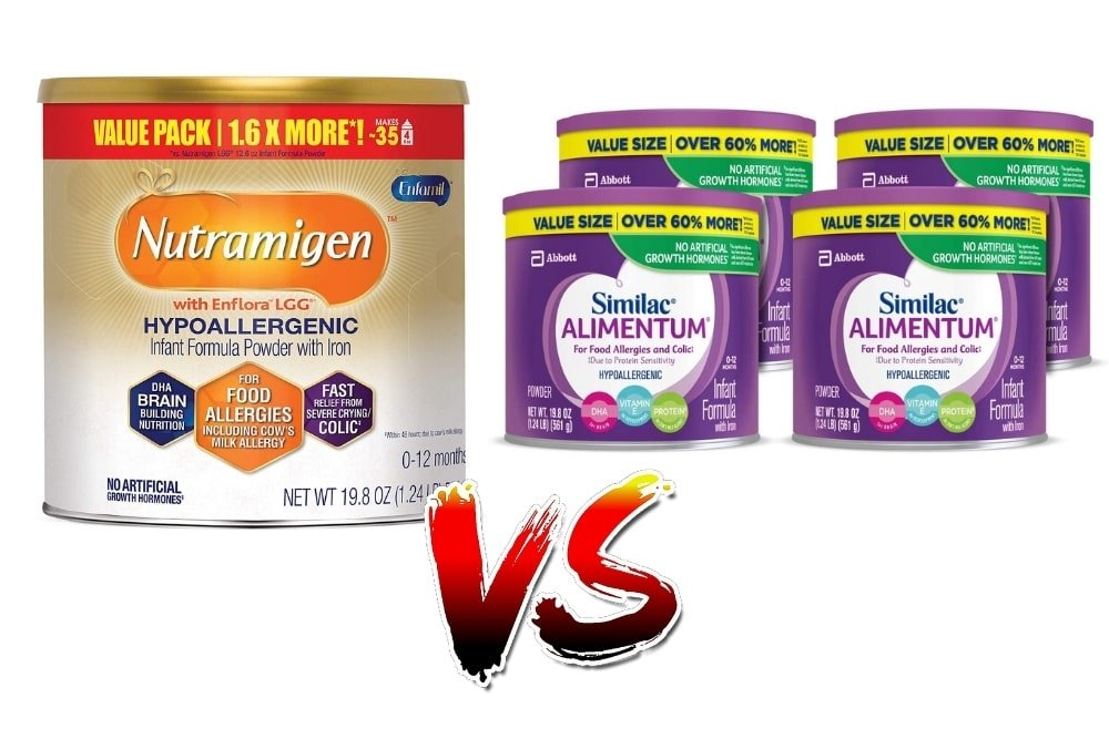 Alimentum vs Nutramigen - Which is Better for Acid Reflux in Babies?