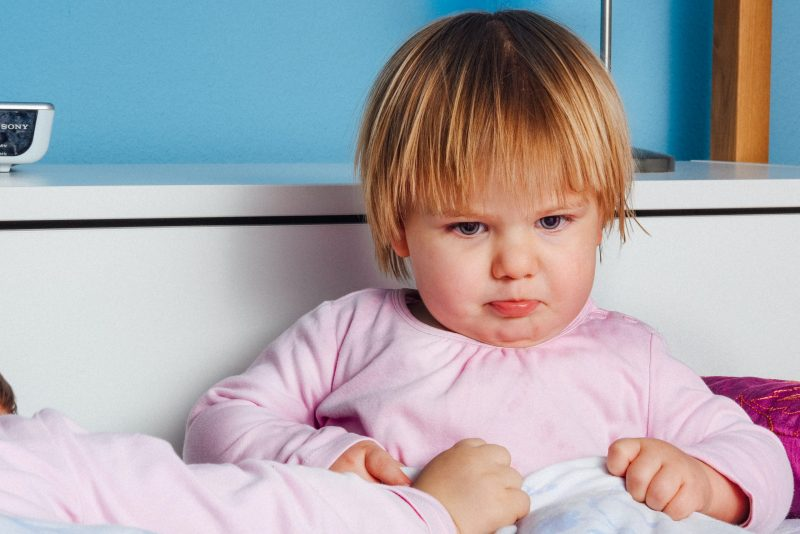 stressed toddler