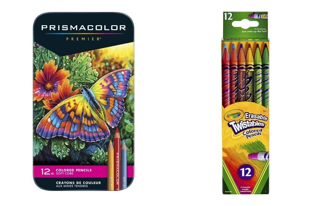 Prismacolor vs Crayola Pencils - Which is Best?