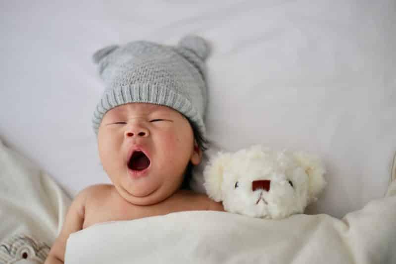baby bad breath in morning
