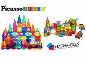 Picasso Tiles vs Magna Tiles - Which Magnetic Tiles Are Best?