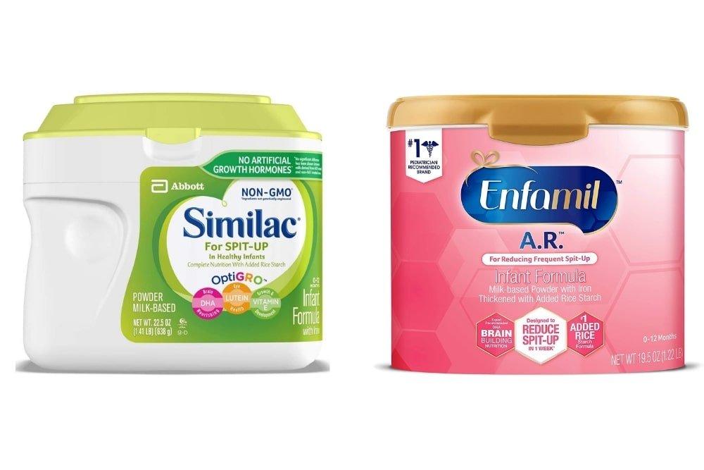 Similac Spit up vs Enfamil AR