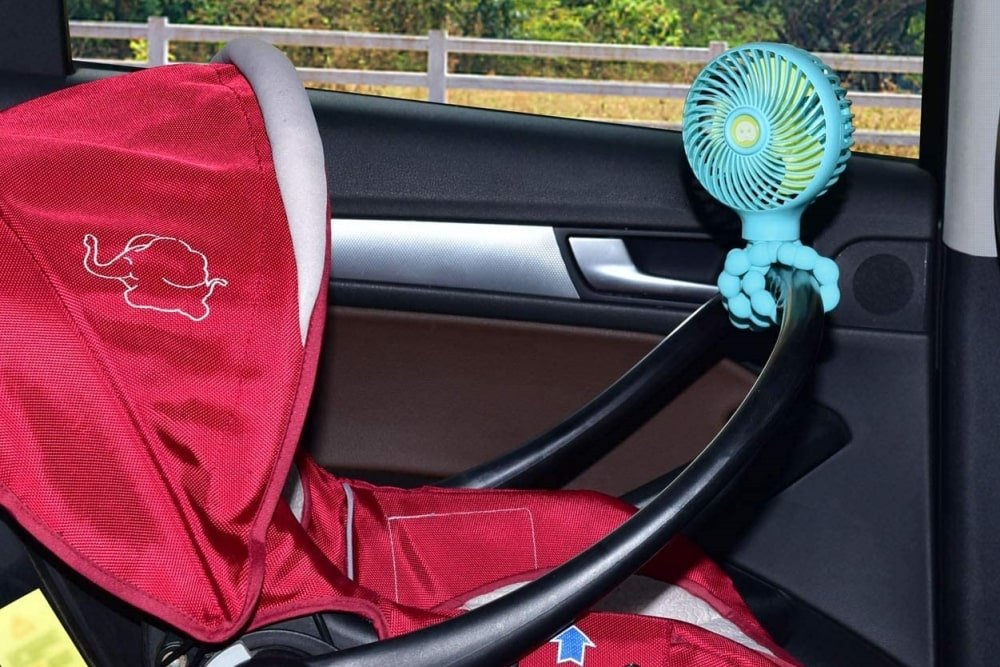 9 Best Stroller Fans for Keeping Baby Cool