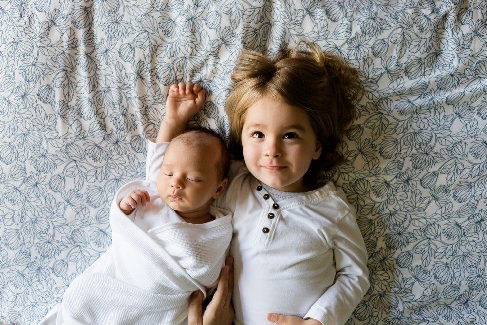 two siblings