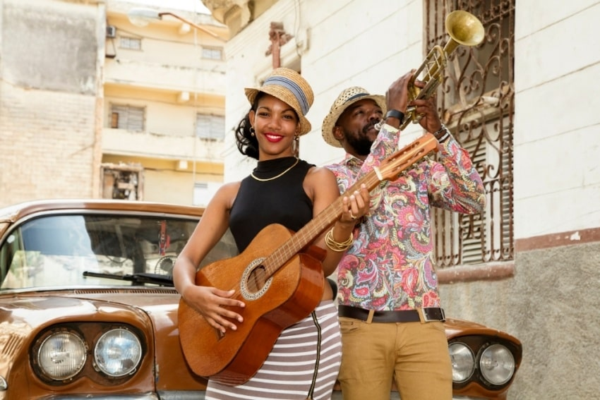 Cuban performer