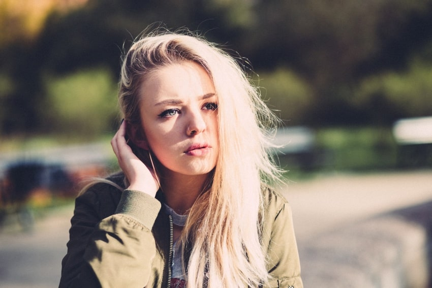 a Polish girl
