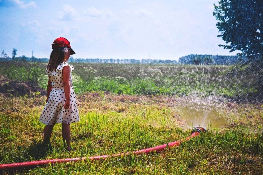 little girl somewhere in Poland