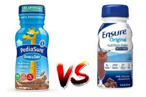 PediaSure vs Ensure - Differences Between Them
